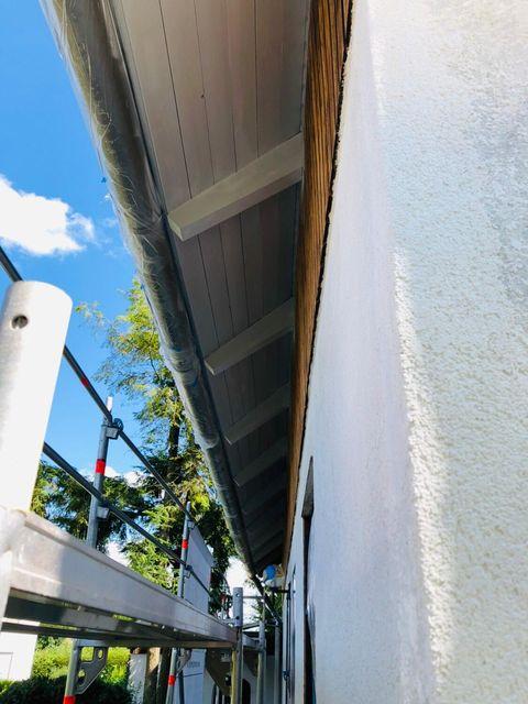 Fassaden Anstrich und Renovierung in Oberjesingen 2019 von Malermeister Kessler aus Herrenberg