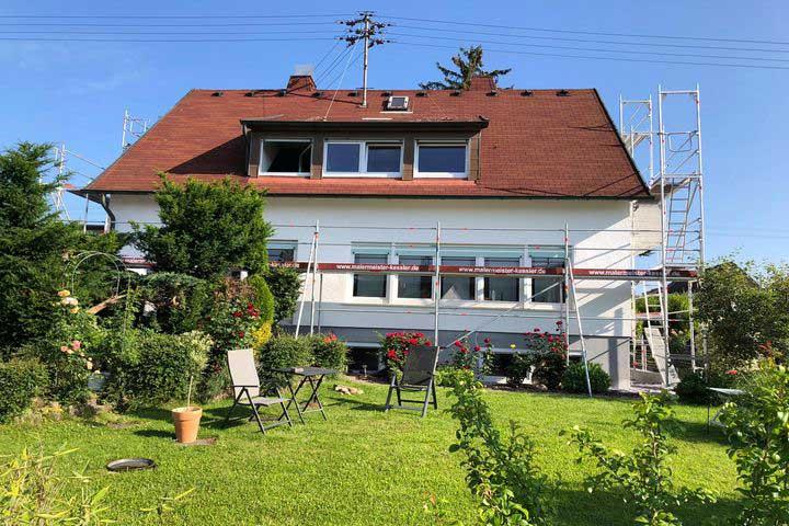 Fassaden Anstriche und Renovierung in Nufringen 2020