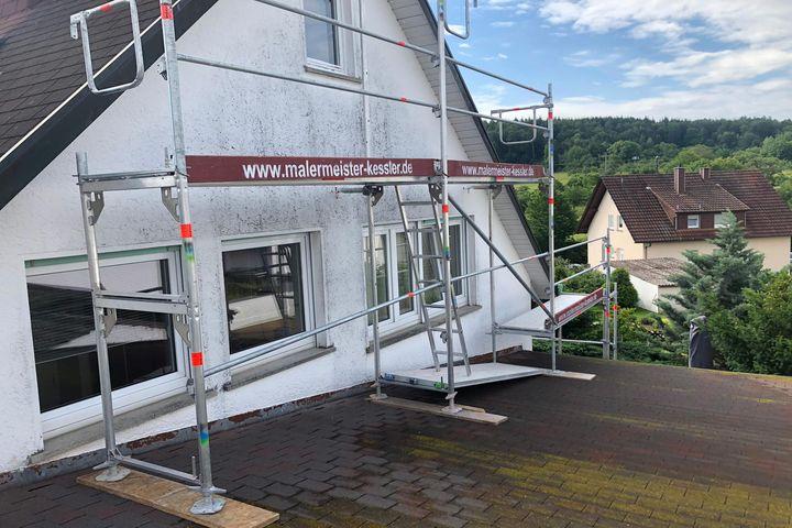 Fassaden streichen lassen vom Maler in Nufringen Malerarbeiten und Gerüstbau von Malermeister Kessler