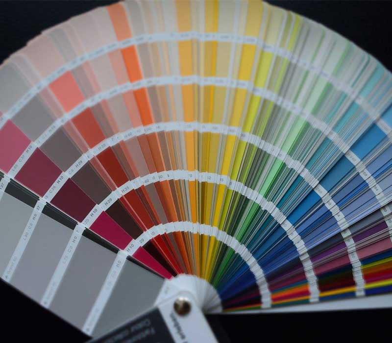 Große Farbauswahl bei Malermeister Kessler für Ihre Wandfarbe Fassaden Streicharbeiten und mehr