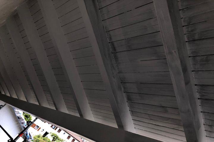 Holzwerk vom Maler streichen und lackieren lassen Kundenprojekte 2020 vom Malerbetrieb Kessler