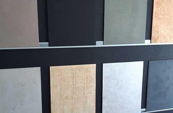 Individuelle und kreative Oberflächen bei Malermeister Kessler im Showroom bestellen
