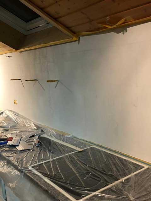 Kreative Gestaltung von Wänden in der Küche - Malerarbeiten von Malermeister Kessler