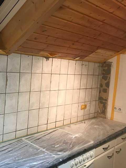 Küchenrenovierung in Deckenpfronn Kundenprojekte 2020 von Malermeister Kessler aus Herrenberg