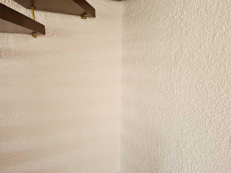 Neuer Wandanstrich bei Hausrenovierung von Malermeister Kessler