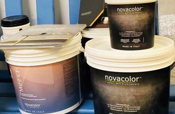 Novacolor von der Oberflächenwelt geliefert