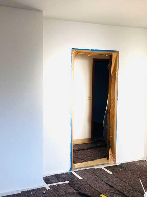 Renovierung Trockenbau- und Spachtelarbeiten 2019 in Gülstein für Wohnräume