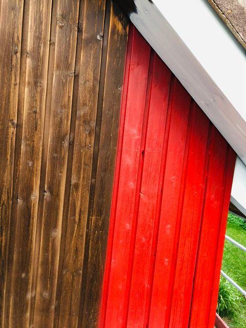 Streicharbeiten und Fassadenrenovierung von Malermeister Kessler in Oberjesingen 2019