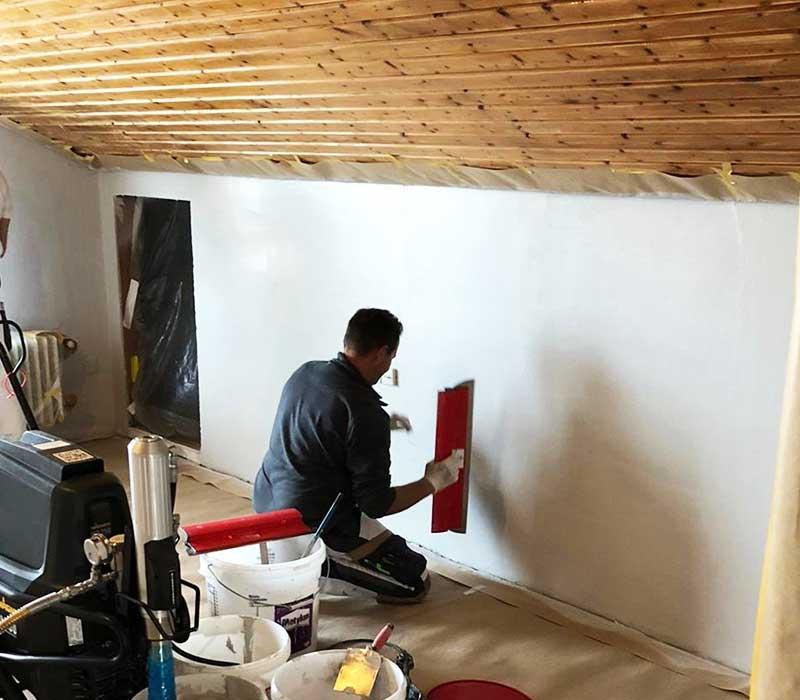 Tapezierarbeiten und Wandgestaltung von Malerbetrieb Kessler