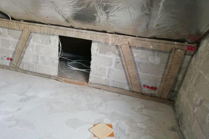 Untergrundvorbereitung und Putzarbeiten - Kundenprojekte 2019